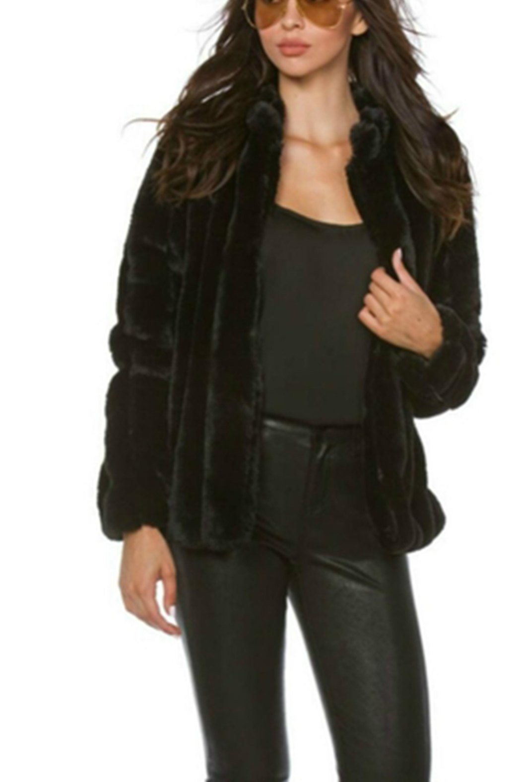 Towne Fur Jacket - Front Cropped Image