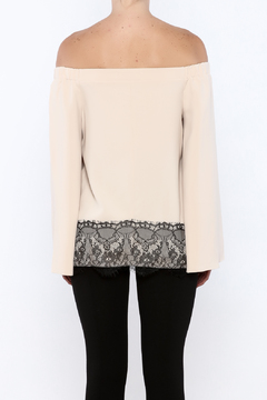 Shoptiques Product: Lace Hem Top