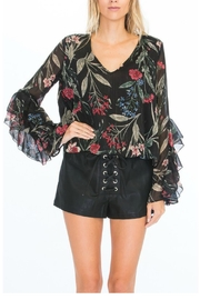 Towne Layered Sleeve Top - Product Mini Image