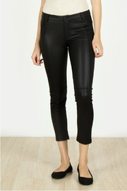 Towne Leather Knit Capri - Front cropped