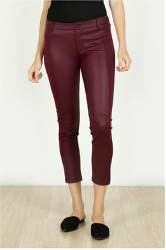 Shoptiques Product: Leather Knit Capri