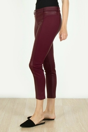 Towne Leather Knit Capri - Front full body