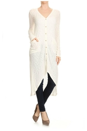 Towne Maxi Cardigan - Front cropped