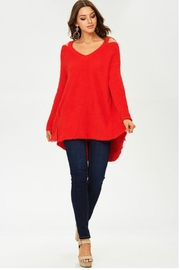 Towne Mohair Cold Shoulder - Front full body