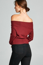 Towne Off Shoulder Sweater - Side cropped