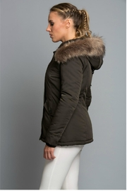 Towne Olive Jacket - Front full body