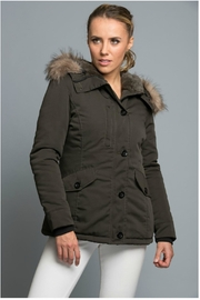 Towne Olive Jacket - Front cropped