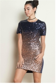 Towne Ombre Sequin Dress - Product Mini Image