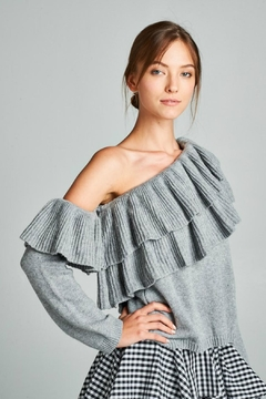 Towne One Shoulder Sweater - Product List Image