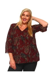 Towne Paisley Blouse - Product Mini Image