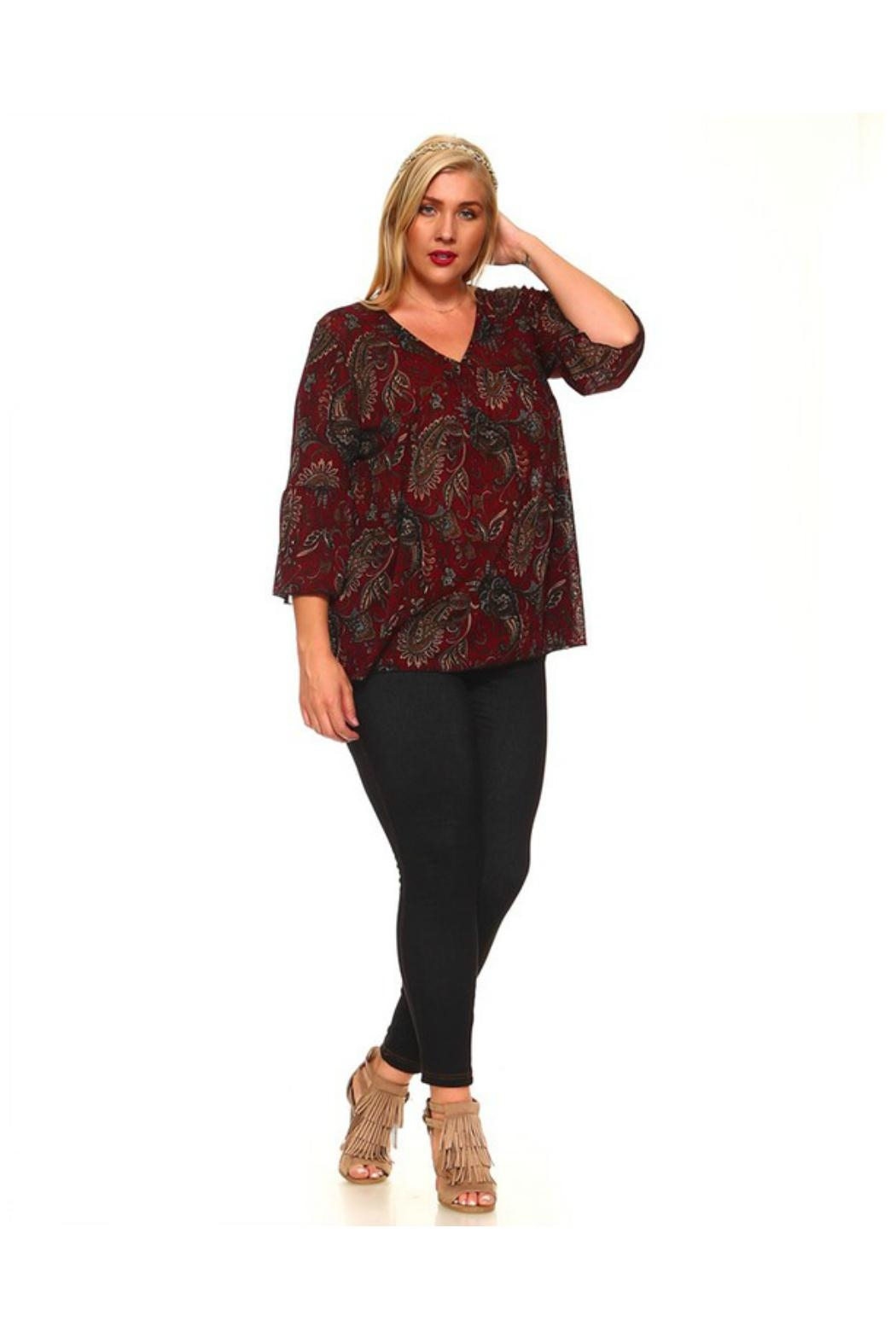 36ef90c49d4f2 Towne Paisley Blouse from Long Island — Shoptiques