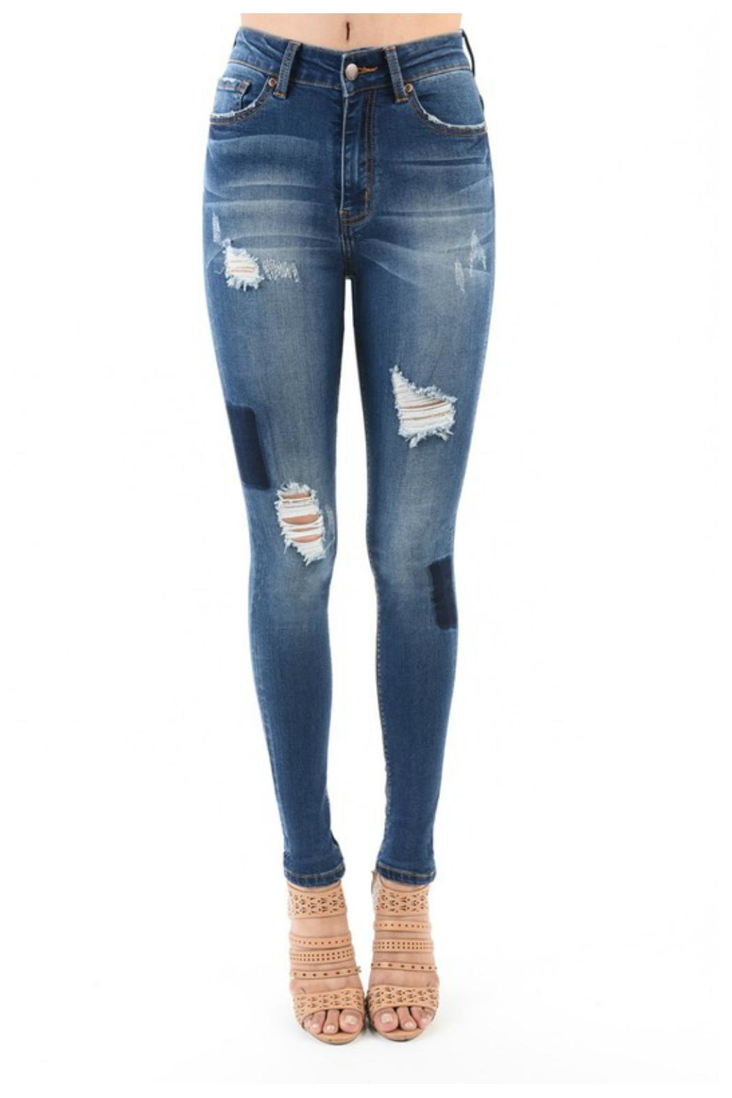Towne Patchwork Jean - Main Image