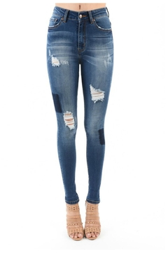 Towne Patchwork Jean - Product List Image