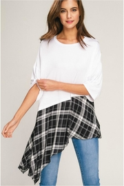 Towne Plaid Bottom Tee - Product Mini Image