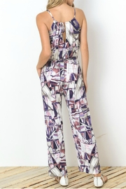 Towne Isadora Printed Jumpsuit - Side cropped