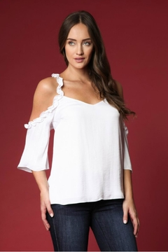 Towne Ruffle Blouse - Product List Image