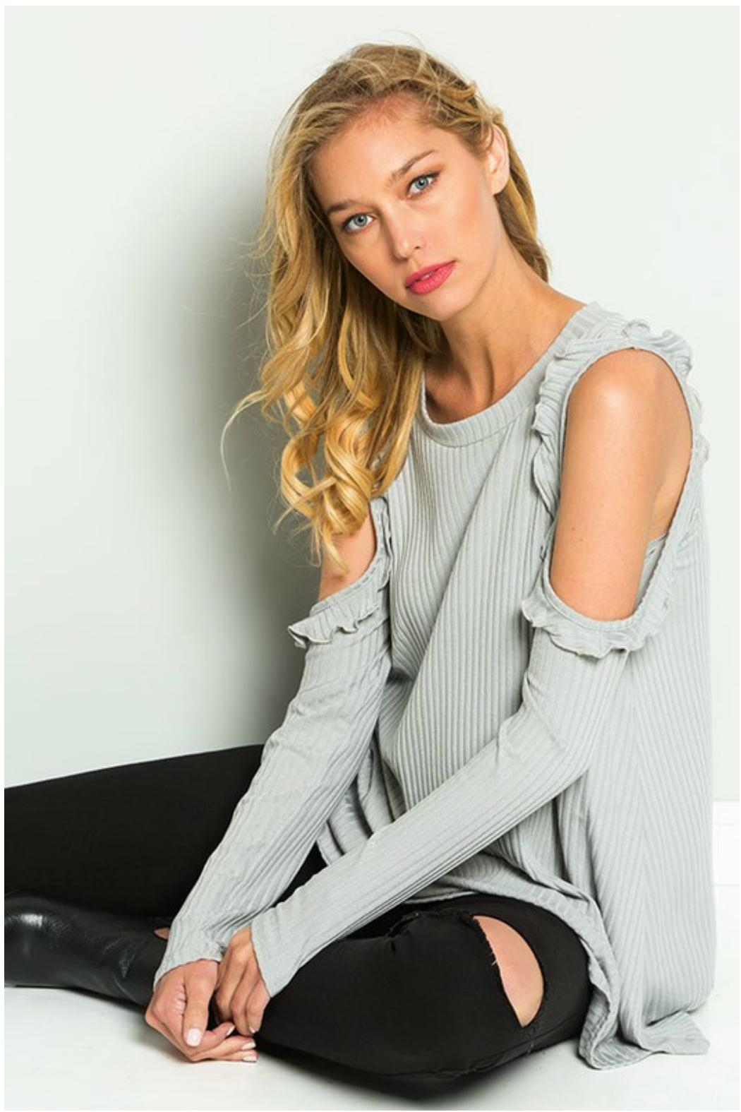 Towne Ruffled Cold Shoulder - Main Image