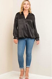 Towne Satin Blouse - Front cropped
