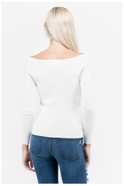 Towne Side Laceup Top - Front full body