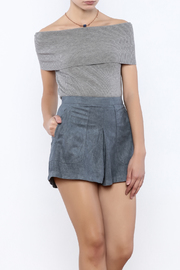 Towne Off Shouler Knit Top - Product Mini Image