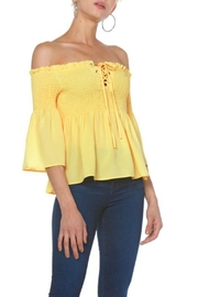 Towne Smocked Top - Product Mini Image