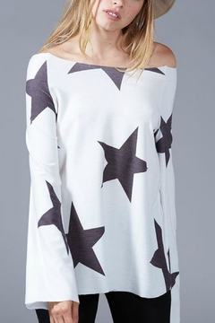 Towne Star Print Top - Product List Image