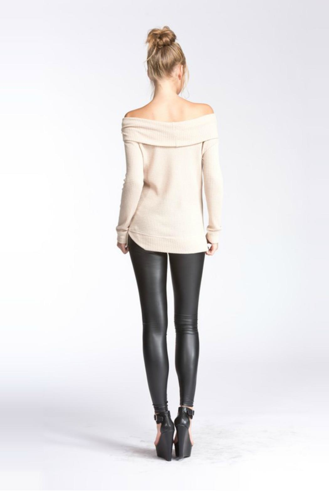 Towne Thermal Off Shoulder - Front Full Image