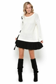 Towne Two Tone Dress - Front full body