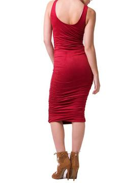 Shoptiques Product: Ultra Suede Midi Dress