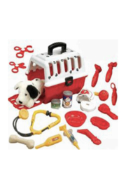 Toysmith Dalmation Vet Kit - Front cropped