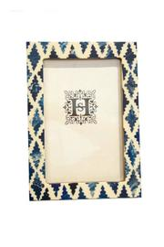 Tozia Home Indigo Photo Frame - Front cropped
