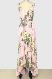 Trac High-Low Floral Dress - Product Mini Image