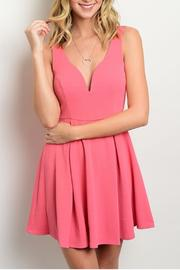 Trac Sweetheart Dress - Front cropped