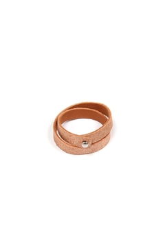 Tracey Tanner Leather Double Wrap Cuffs - Product List Image