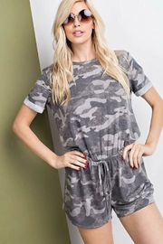 Tracie's Army Romper Shorts - Product Mini Image