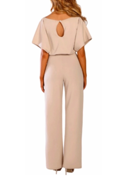 Tracie's Belted Wide Leg Jumpsuit - Alternate List Image