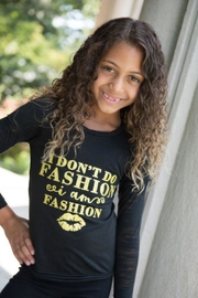 Tracie's Don't Do Fashion Top - Product Mini Image