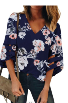 Tracie's Tracie's Flower Blouse - Alternate List Image
