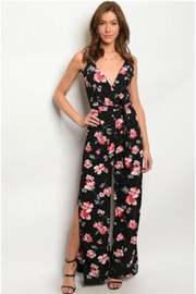 Tracie's Flower Romper - Front cropped