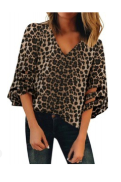 Tracie's Tracie's Leopard blouse - Alternate List Image