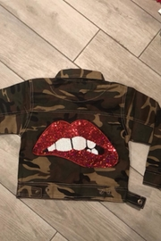 Tracie's Lip Patch Jacket - Product Mini Image