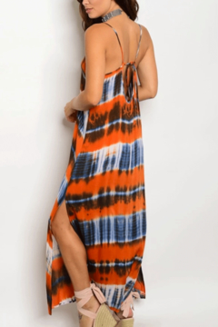 Tracie's Orange Tie Dye Maxi Dress - Alternate List Image
