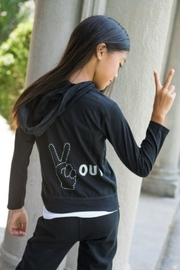 Tracie's Peace Out Hoody - Product Mini Image