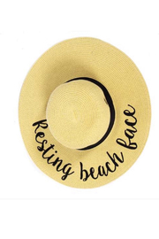 Tracie's Resting Beach Face Hat - Product Mini Image