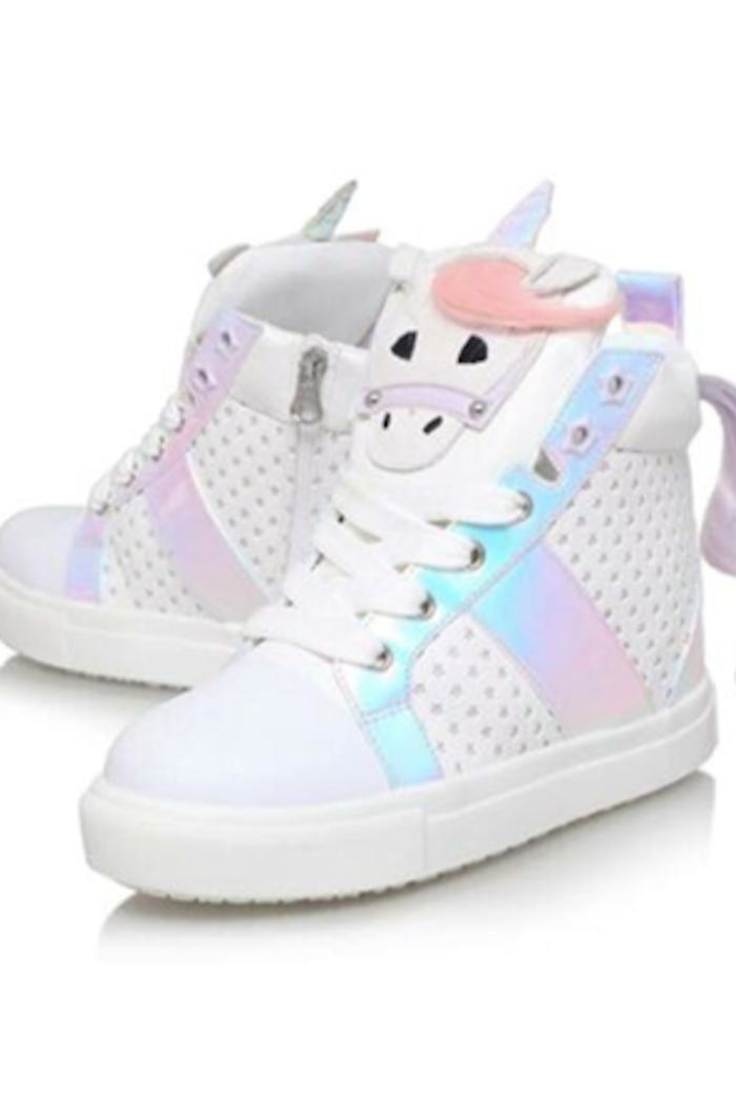 Tracie's Unicorn sneakers - Front Cropped Image