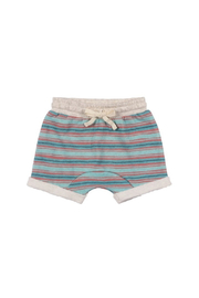 Paper Wings Trackie Shorts - Front cropped