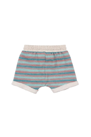 Paper Wings Trackie Shorts - Front full body