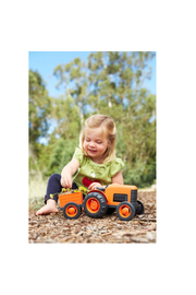 Green Toys Tractor - Back cropped