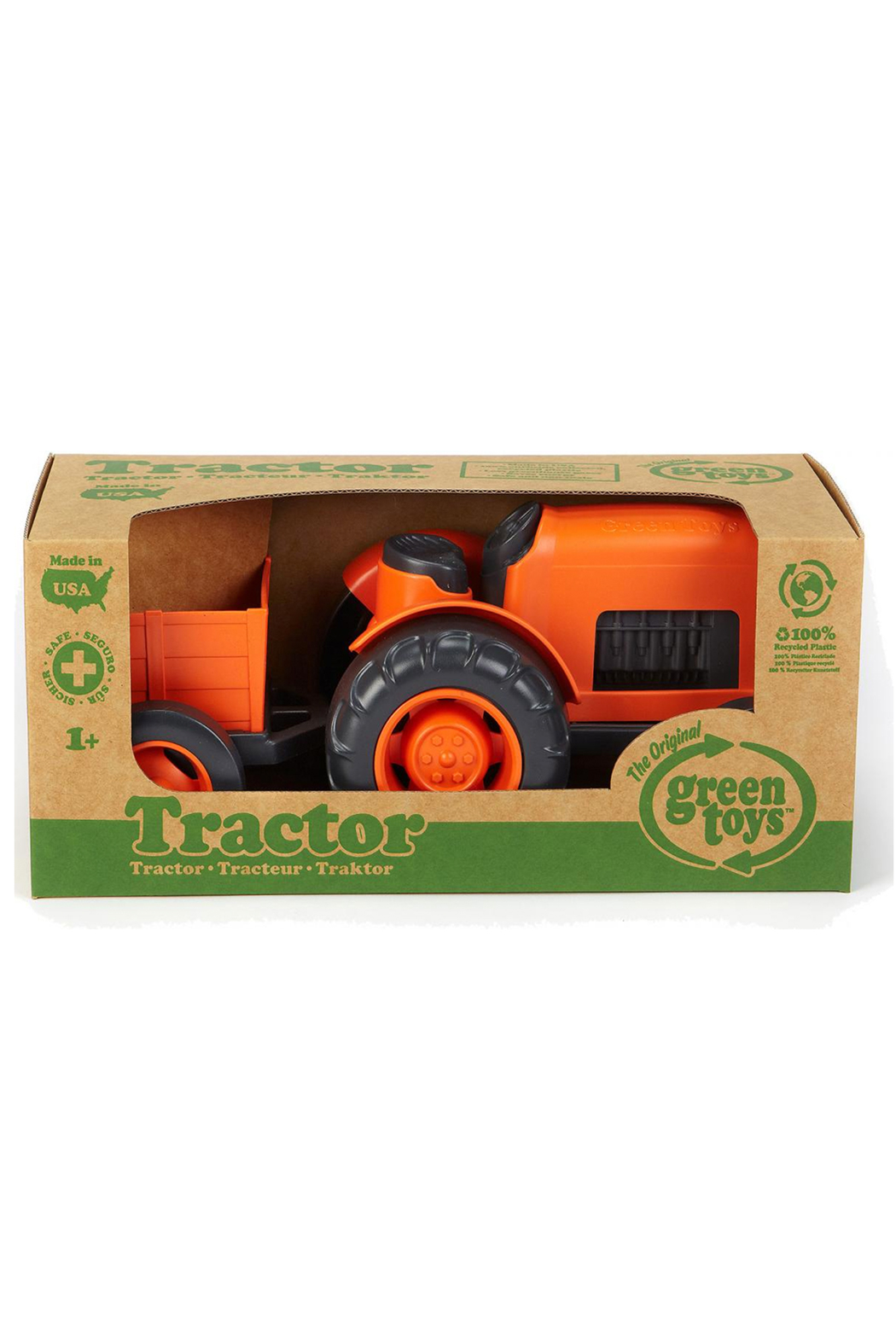 Green Toys Tractor - Front Full Image