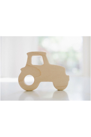 Bannor Toys  Tractor Wooden Grasping Toy - Front full body